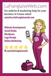 La Franglaise,websites,web design,web development,search engine optimisation,social media marketing,branding,logo design,wordpress,online marketing
