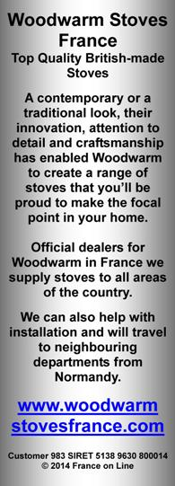 Woodwarm Stoves France,British made Stoves,air wash system,installation
