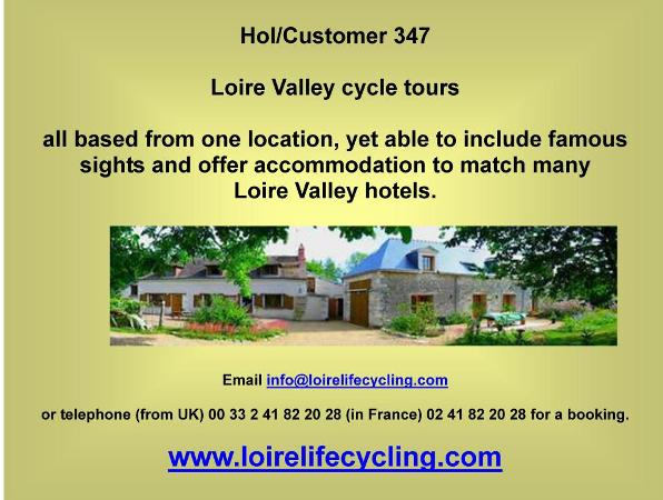Loire Valley Cycle Tours,loire life cycling